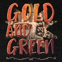 Gold And Green T-Shirt