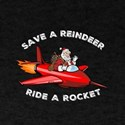 Save a Reindeer Ride a Rocket T-Shirt