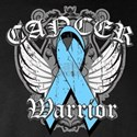 Prostate Cancer Warrior Long Sleeve Dark T-Shirt