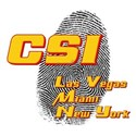 CSI Las Vegas Miami New York White T-Shirt