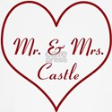 Mr. and Mrs. Castle T-Shirt