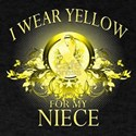 I Wear Yellow for my Niece (f T-Shirt