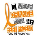 I Wear Orange 37 MS Women's T-Shirt