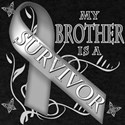 My Brother is a Survivor (grey) T-Shirt