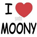 I heart MOONY White T-Shirt
