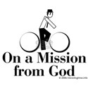 on a mission White T-Shirt