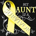 My Aunt is a Survivor (yellow) T-Shirt