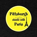 Pittsburgh stands with Paris T-Shirt