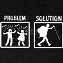 Problem Solution Backpacking T-Shirt
