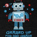 Robot Geared Up 3rd Grade T-Shirt