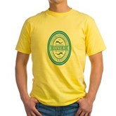 100% Genuine Diver Yellow T-Shirt