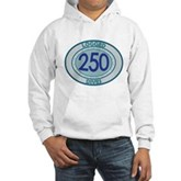 250 Logged Dives Hooded Sweatshirt