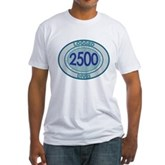 2500 Logged Dives Fitted T-Shirt