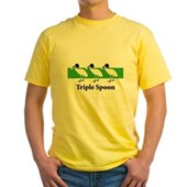 Triple Spoon Yellow T-Shirt