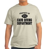 Cave Diving Department Light T-Shirt