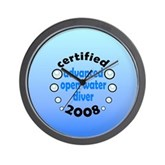 Certified AOW 2008 Wall Clock