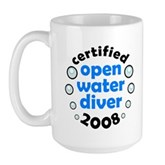 Open Water Diver 2008 Large Mug