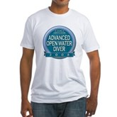 Certified AOWD 2008 Fitted T-Shirt