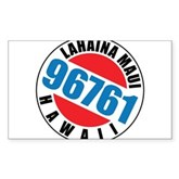 Lahaina Maui 96761 Rectangle Sticker