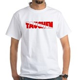 Tauchen German Scuba Flag White T-Shirt