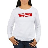 Tauchen German Scuba Flag Women's Long Sleeve T-Sh