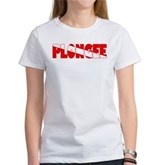 Plongee French Scuba Flag Women's T-Shirt