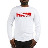 Plongee French Scuba Flag Long Sleeve T-Shirt