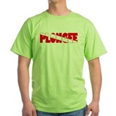 Plongee French Scuba Flag Green T-Shirt