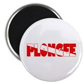 Plongee French Scuba Flag Magnet