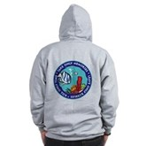 Take Only Memories (fish) Zip Hoodie
