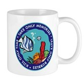Take Only Memories (fish) Mug