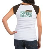 Zeeland Divers Holland Women's Cap Sleeve T-Shirt