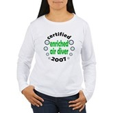 Nitrox Diver 2007 Women's Long Sleeve T-Shirt
